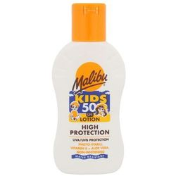 Malibu Kids Lotion SPF50 preparat do opalania ciała 100 ml