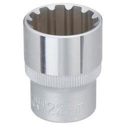 Nasadka spline Yato 1/2 22 x 38 mm