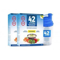 42 Vital X 2 Program - niskokaloryczna dieta roślinna
