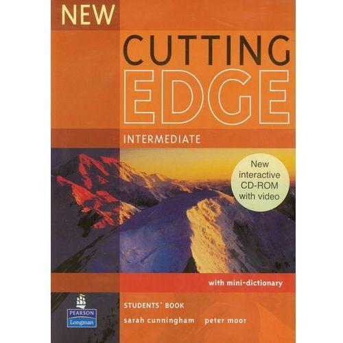 Książki do nauki języka, New Cutting Edge Intermediate Student's Book (podręcznik) plus CD-ROM (opr. miękka)