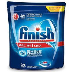 Tabletki FINISH do zmywarek All in 1 Max 24 szt. + Zamów z DOSTAWĄ JUTRO!