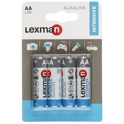 Bateria alkaliczna LR6/AA 4 SZT. LEXMAN