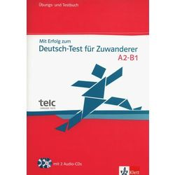 Mit Erfolg Zum Deutsch-test Für Zuwk - Cvičebnice Se Souborem Testů + 2cd (opr. miękka)