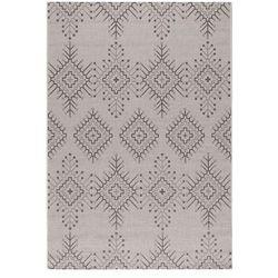 Dekoria Dywan Modern Aztec silver/ antracite 160x230cm, 160 × 230 cm