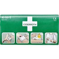 Pozostałe materiały opatrunkowe, Zestaw do tamowana krwi Cederroth 4-in-1