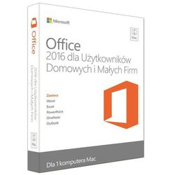 Microsoft Office Mac Home & Business 2016 ESD PL