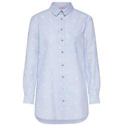 Hunkemöller Koszula nocna 'Menshirt Chambray Embroided' jasnoniebieski / biały