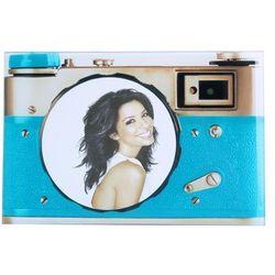 Ramka do zdjęć szklana aparat retro 18 x 12 cm