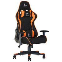 Fotele dla graczy, Fotel GEMBIRD Scorpion GC-SCORPION-04 Czarno-pomarańczowy