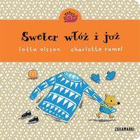 Książki dla dzieci, Sweter włóż i już (opr. kartonowa)