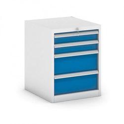 Kontener warsztatowy GB 500, 4x szuflada, 550 x 600 x 700 mm
