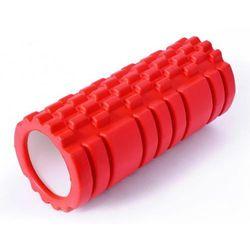 Wałek Roller do masażu SMJ Sport 33cm czerwony