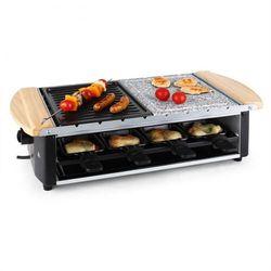 Chateaubriand grill-raclettepłyta kamienna 1200W