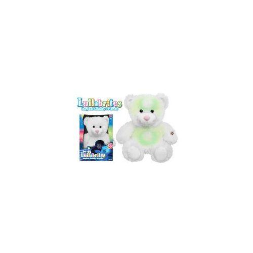 Pluszaki zwierzątka, Lullabrites Świecąca Przytulanka Miś Biały 1145