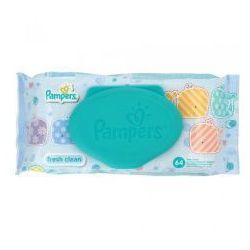 Pampers Baby Fresh Clean Single Chusteczki Pielęgnacyjne dla Niemowląt
