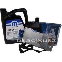 Olej MOPAR ATF+4 oraz filtr skrzyni biegów AW4 Jeep Comanche MJ