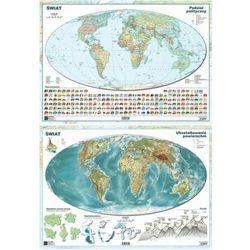 Mapa świata A2 Dwustronna ścienna ART-MAP