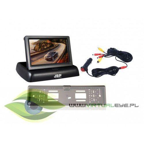Kamery przemysłowe, Zestaw Kamera Cofania + Monitor + Zasilacz