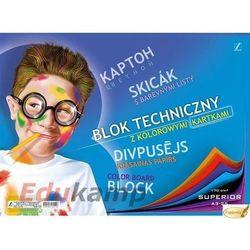 Blok techniczny Kreska A3/10k. 00013 kolorowy