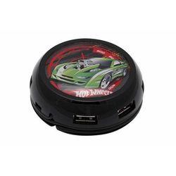 Hub MODECOM UFO Turbo Hot Wheels USB 7-portowy