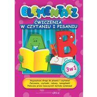 Książki dla dzieci, Ćwiczenia w czytaniu i pisaniu Elementarz (opr. broszurowa)