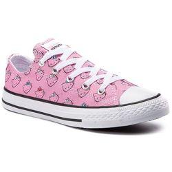 Trampki CONVERSE - Ctas Ox Prism Pink 664638C Prism Pink/White/W