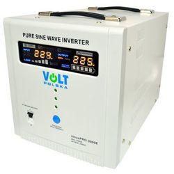 VOLT sinusPRO-3000E Przetwornica samochodowa 2100W/3000W 48V/230V z pełną sinusoidą oraz funkcją UPS i prostownika