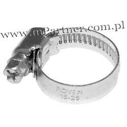 Obejma opaska zaciskowa ślimakowa skręcana 16-27 mm 100szt