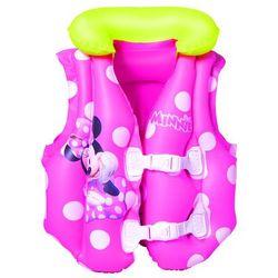 BESTWAY Dmuchana kamizelka do pływania - Disney Minnie, 51 x 46 cm