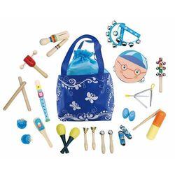 Zestaw muzyczny dla dzieci, 16 instrumentów, torba
