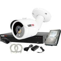 Zestawy monitoringowe, Plug&Play Zestaw do monitoringu IP Rejestrator LV-NVR4415S-4P + 1x Kamera LV-IP2M3TFE + 1TB