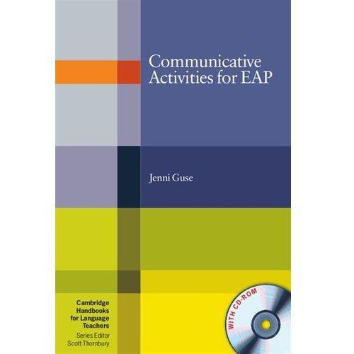 Książki do nauki języka, Communicative Activities For EAP With CD-ROM Cambridge Handbooks For Language Teachers (opr. miękka)