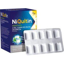 NiQuitin Menthol guma do żucia 4mg x 100 sztuk