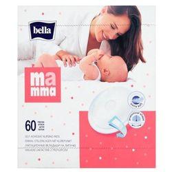 BELLA 60szt Mamma Wkładki laktacyjne z przylepcem