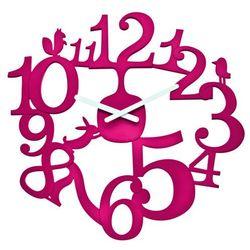 Zegar ścienny malinowy Pi:p KZ-2327583