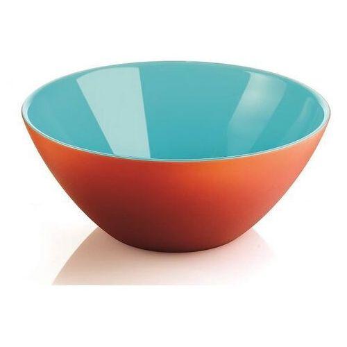 Misy i miski, Guzzini - My Fusion - misa 25 cm, pomarańczowo - niebieska - niebieski ||pomarańczowy