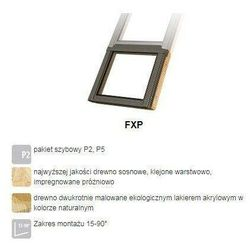 Okno dachowe FAKRO FXP P5 134x92 antywłamaniowe 3-szybowe nieotwierane