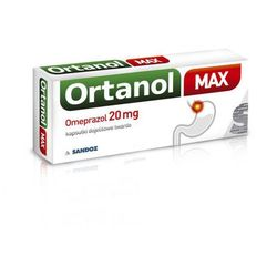 ORTANOL MAX 20mg x 14 kapsułek - 14 kapsułek
