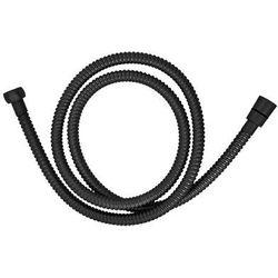 Omnires wąż prysznicowy 150cm czarny 029