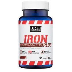 Witaminy UNS Iron Plus 30 kaps