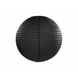 """""""Lampion papierowy, czarny, 20cm (1 karton / 30 szt.)"""""""