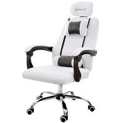 Fotel biurowy GIOSEDIO biały, model GPX002
