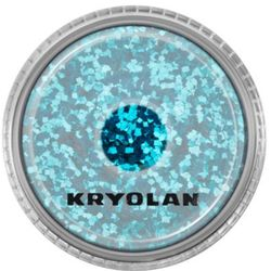 Kryolan POLYESTER GLIMMER COARSE (PETROL) Gruby sypki brokat - PETROL (2901)