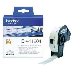 BROTHER Etykiety do drukarek wielofunkcyjne 17x54mm (400 szt.)