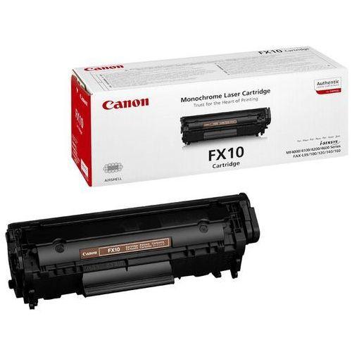 Akcesoria do faksów, Wyprzedaż Oryginał Toner Canon FX10 do faxów L-100/120/140, MF-4010/4370DN | 2 000 str. | czarny black, pudełko otwarte