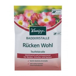 Kneipp Mineral Bath Salt Back Comfort Devil´s Claw sól do kąpieli 60 g unisex