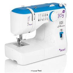 Maszyna do szycia TEXI Joy 13 Blue - idealna na początek + igły + stopki