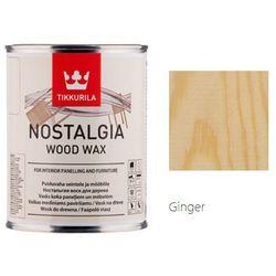 TIKKURILA NOSTALGIA WOOD WAX- wosk do drewna, ginger, 0.9 l