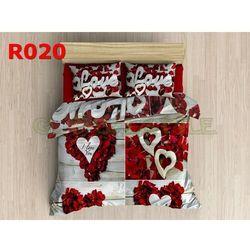 Pościel 3 D bawełna100% 160 x200 +2 poduszki 70x80 R020