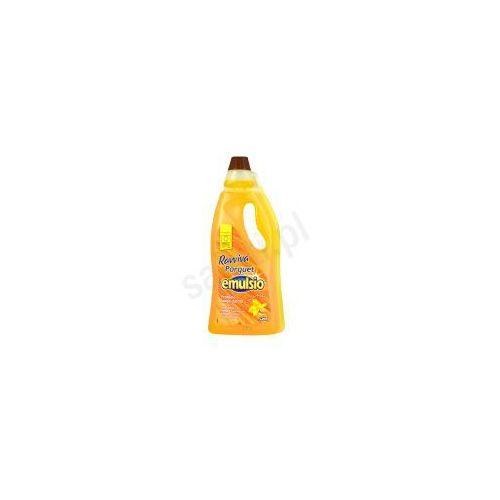 Płyny do czyszczenia podłóg, Emulsio Ravviva Parkiet - Płyn do drewnianych podłóg o zapachu arganowym (750 ml)